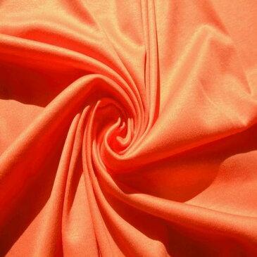 【リヨセル コットン プライマリー スムース ニット 生地】生地幅:160cm カラー:オレンジ系 リヨセル 70% コットン 30% ナノシア加工 シャツ インナー カーディガン ハンドメイド 縫製 洋裁 カットソー ニット生地