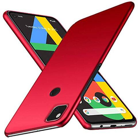 Google pixel 4a ケース SHINEZONE pixel4aケースピクセル4a PCレンズ保護 耐衝撃 指紋防止 超薄型 超耐磨 軽量 pixel 4aスマートフ
