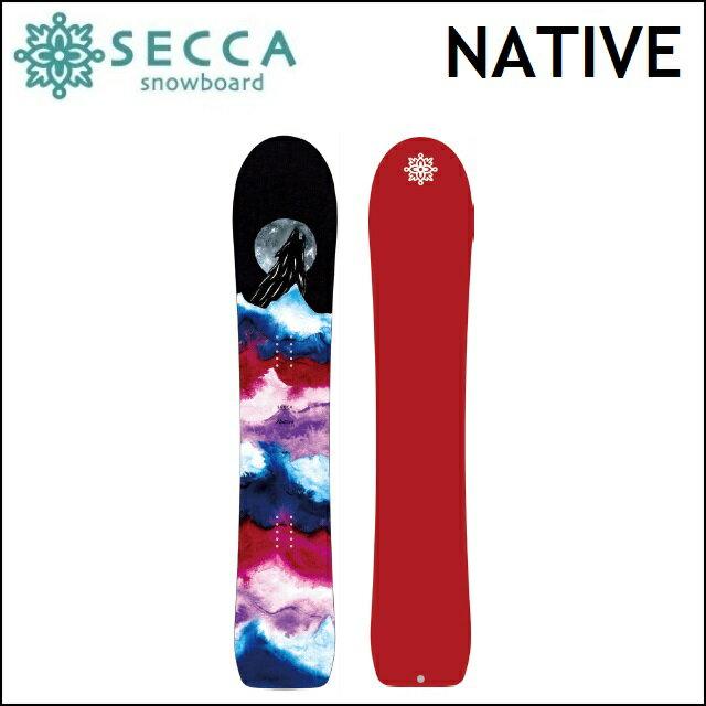 17-18 UNIT SECCA ユニット セッカ スノーボード NATIVE ネイティブ レディース:プロショップ ベルズ