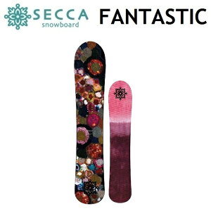 [最大3000円クーポン配布中] 18-19 UNIT SECCA ユニット セッカ スノーボード FANTASTIC ファンタスティック レディース