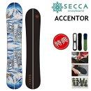 20-21SECCAACCENTORセッカアクセンタースノーボード板スプリットボードレディース151