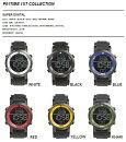 P01TIME(プレイタイム)TECHNICALWATCH(テクニカルウオッチ)時計1STDIGITAL全6色