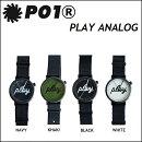 P01時計PLAYTIME(プレイタイム)TECHNICALWATCH(テクニカルウオッチ)プレイ時計PLAYANALOG