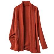 トッパーデザインカットソーカーディガン ベルーナ レディース ファッション