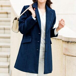 プリント チェスターコート ベルーナ レディース ファッション