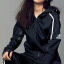 ●アウトレット●ジャケット M L OT <adidas>Z.N.Eフーディーファーストリリースメッシュ(M〜OT) ラナン Ranan 30代 40代 50代 レディース ミセス ファッション アウトレット ベルーナ 秋冬 アウター アウトレット