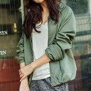 ジャケット/S/M/Lミリタリーウォームジャケット ベルーナ 40代 50代 60代 レディース ミセス ファッション