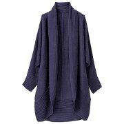 デザインラウンドカーディガン ベルーナ レディース ファッション
