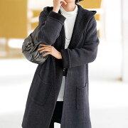 デザインフードトッパーコート ベルーナ レディース ファッション アウトレット アウター