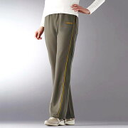 パイピングウォーキングパンツ ベルーナ レディース ファッション