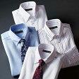 ワイシャツ/M/L/LLお買得形態安定シャツ ボタンダウン(M 裄丈80cm〜LL 裄丈86cm) ベルーナ べるーな 【40代 50代 60代 メンズ 紳士 男性 ファッション】 ストライプシャツ 綿