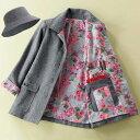 ジャケット 3L 4L 5L帽子付き!ご自慢旅ジャケット(3L〜5L) ベルーナ ルフラン べるーな 【40代 50代 60代 レディース ミセス ファッション】 大きいサイズ