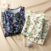 レディース エレガントトラベルパジャマ ベルーナ ファッション
