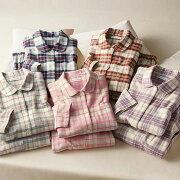 ネルシャツパジャマ ベルーナ レディース ファッション