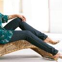スパッツ M LL Lデニム調レギンス(M〜LL) ベルーナ 40代 50代 60代 レディース ミセス ファッション 夏服 スパッツ パンツ Belluna