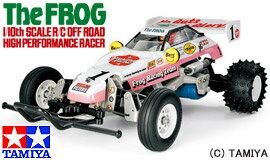 <21%OFF>【送料無料】 RC ビッグタイヤ&バギー マイティフロッグ(2005) 【タミヤ: 玩具 ...