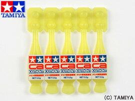【タミヤ】 タミヤメイクアップ材 タミヤ瞬間接着剤(使いきりタイプ) 【玩具:プラモデル:工具・材料】【タミヤメイクアップ材】【TAMIYA】