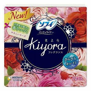 ソフィ Kiyora フローラルウィッシュの香り 72枚入り