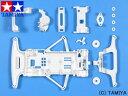 ミニ四駆特別販売商品 1/32 フルカウルミニ四駆 ホワイトスーパーFMシャーシ 【タミヤ: 玩具 ...