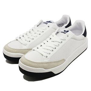 【アディダス】 アディダス ロッドレーバ? スーパ? [サイズ:27.5cm(US9.5)] [カラー:ホワイト×ネイビー] #BB8563 【靴:メンズ靴:スニーカー】【BB8563】【ADIDAS adidas ROD LAVER SUPER FTWWHT/FTWWHT/CONAVY】