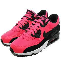 【ナイキ】ナイキエアマックス90レザ—GS(子供用)[サイズ:24.5cm(US6.5Y)][カラー:レーサーピンク×ブラック×ホワイト]#833376-600【靴:レディース靴:スニーカー】【833376-600】【NIKENIKEAIRMAX90LTR(GS)RACERPINK/BLACK-WHITE】
