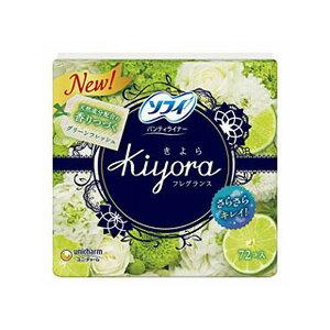 ソフィ Kiyora 爽やかなグリーンの香り 72枚入り
