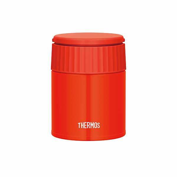 【サーモス】 真空断熱スープジャ— JBQ301 [容量:300ml] [カラー:トマト] #JBQ-301-TOM 【キッチン用品:お弁当グッズ:お弁当箱:保温機能付き】【THERMOS】