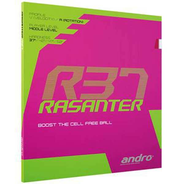 卓球, 卓球用ラバー 500off() 828 9:59 R37 ULTRA 112286-BK : ANDRO RASANTER R37