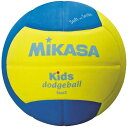 ビューティーファクトリー:ベルモで買える「【ミカサ】 スマイルドッジボール2号 [カラー:イエロー×ブルー] #SD20YBL 【スポーツ・アウトドア:レクリエーションスポーツ:ドッジボール】【MIKASA】」の画像です。価格は2,471円になります。