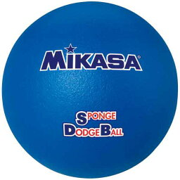 【ミカサ】 スポンジドッジボール [カラー:ブルー] #STD21-BL 【スポーツ・アウトドア:レクリエーションスポーツ:ドッジボール】【MIKASA】