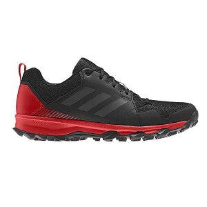 【アディダス】 TERREX TRACEROCKER トレイルランニングシューズ [サイズ:27.0cm] [カラー:コアブラック×カーボン×アクティブレッド] #BC0437 【スポーツ・アウトドア:登山・トレッキング:靴・ブ