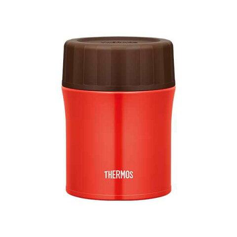 【サーモス】 真空断熱スープジャ— JBX500 [容量:500ml] [カラー:レッド] #JBX-500-R 【キッチン用品:お弁当グッズ:お弁当箱:保温機能付き】【THERMOS】