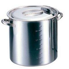 【送料無料】【大屋製作所】クロ−バ−電磁モリブデン寸胴鍋(目盛付)30cm【キッチン用品:調理用具・器具:寸胴鍋】【クローバー】