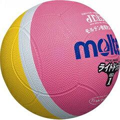 【モルテン】 ライトドッジ ドッジボール 1号球 [カラー:ピンク×イエロー] #SLD1PL 【スポーツ・アウトドア:レクリエーションスポーツ:ドッジボール】【MOLTEN】