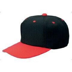 【ゼット】 野球用 オールニットベースボールキャップ(六方) [カラー:ブラック×レッド] [サイズ:L(57〜58cm)] #BH121 【スポーツ・アウトドア:野球・ソフトボール:ウェア:競技用野球帽】【ZETT】