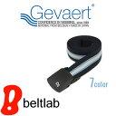 ベルト ゴムベルト メンズ レディース ゴム 日本製 『 ゲバルト GEVAERT BANDWEVERIJ 』伸縮性ばつぐんでとっても軽量、7色ボーダー柄のゲバルト ゴムテープ、動きやすいベルト 金属アレルギー 無段階 空港 アウトドア スポーツ カジュアル Belt BL-LB-0675