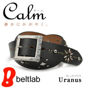 "Calm's ""Calm - Uranus-' most popular studded belts, silver and gold studs antiques atmosphere, men's and women's in garrison buckle leather belt MEN's Belt LADY's Belt"
