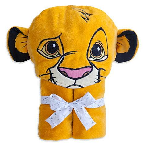 ディズニー(Disney)USA公式商品 シンバ ライオンキング フード付きタオル ベビー 赤ちゃ...