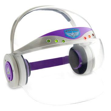 【日曜祝日も営業中】【あす楽】ディズニー Disney US公式商品 バズライトイヤー バズ トイストーリー ヘルメット 子供用 光る ライトアップ キッズ 女の子 男の子 [並行輸入品] Buzz Lightyear Light-Up Helmet for Kids グッズ ストア プレゼント ギフト