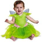 【あす楽】ディズニー Disney ティンカーベル コスチューム 衣装 【サイズ6-18か月用】 コスプレ ドレス ハロウィーン ハロウィン ドレスアップ ベビー 幼児 子供 赤ちゃん 幼児用 女の子 [並行輸入品] Tinker Bell Deluxe Infant Dress Up / Halloween Cos