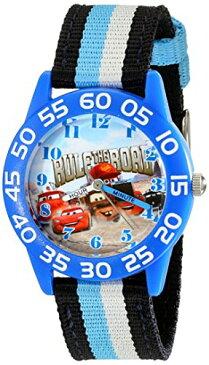 【あす楽】ディズニー Disney カーズ Cars 腕時計 時計 うでどけい とけい ウォッチ 子供用 キッズ 女の子 男の子 [並行輸入品] Disney Kids' W001953 Blue Character Watch with Tricolored Band グッズ ストア プレゼント ギフト 誕生日 人気 クリスマス
