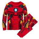 【あす楽】 ディズニー Disney US公式商品 アイアンマン マーベル パジャマ 寝巻き 部屋着 服 コスチューム 衣装 ドレス コスプレ ハロウィン ハロウィーン 服コスプレ 子供 キッズ 女の子 男の子 [並行輸入品] Iron Man Costume PJ PALS for Kids グッズ ストア プレ