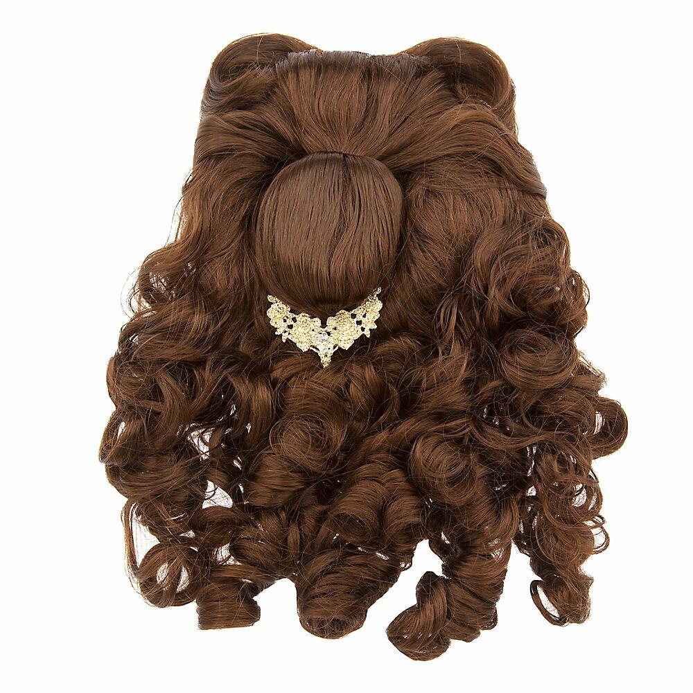 キッズ・ベビー・マタニティ, その他 1-2 Disney US Belle Costume Wig for Kids