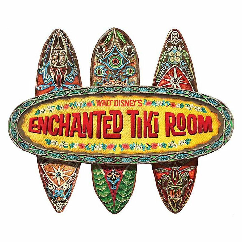 【取寄せ】 ディズニー(Disney)US公式商品 魅惑のチキルーム ウォールサイン 壁掛け サインボード サイン 標識 標示 [並行輸入品] The Enchanted Tiki Room Wall Sign グッズ ストア プレゼント ギフト 誕生日 人気 クリスマス 誕生日 プレゼン:ビーマジカル