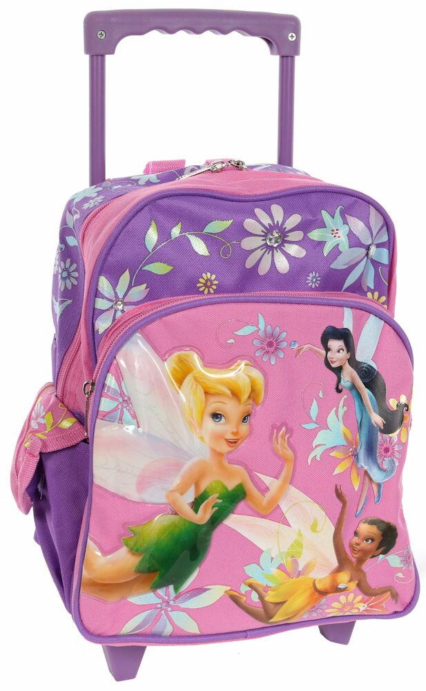【3月25日発送】ディズニー Disney ティンカーベル フェアリーズ スーツケース キャリーバッグ 旅行 バッグ 鞄 キャリーケース ころころ 女の子 子供 子供用 キッズ [並行輸入品] クリスマス 誕生日 プレゼント ギフト クリスマス 誕生日 プレゼント ギフト