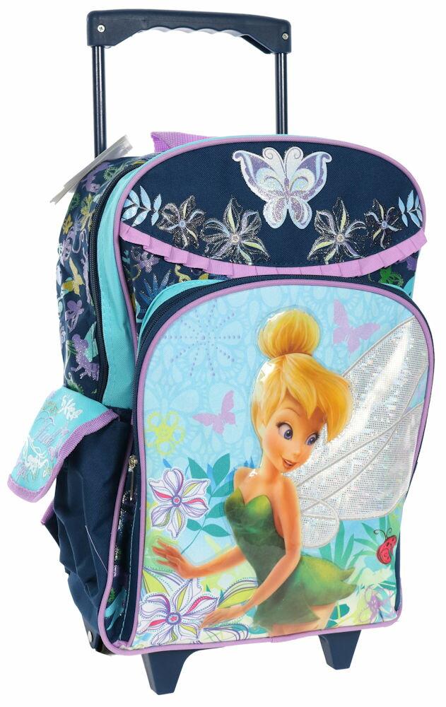 【3月25日発送】ディズニー Disney ティンカーベル フェアリーズ スーツケース キャリーバッグ リュックサック 兼用 旅行 バッグ 鞄 キャリーケース ころころ 女の子 子供 子供用 キッズ [並行輸入品] クリスマス 誕生日 プレゼント ギフト