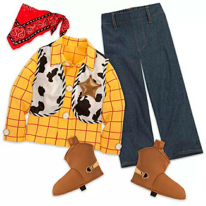 キッズ・ベビー・マタニティ, その他 US Disney Woody Costume for Boys - Toy Story