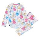 【あす楽】 ディズニー Disney US公式商品 プリンセス パジャマ 寝巻き 部屋着 服 セット 女の子用 子供用 女の子 ガールズ 子供 [並行輸入品] Princess Pajama Set for Girls グッズ ストア プレゼント ギフト クリスマス 誕生日 人気