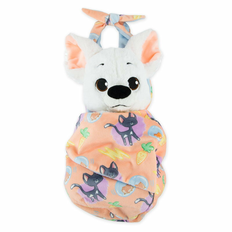 キッズ・ベビー・マタニティ, その他  Disney US Bolt Plush with Blanket Pouch - Disneys Babies Small