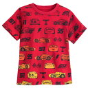【あす楽】 ディズニー Disney US公式商品 カーズ Cars Tシャツ トップス 服 シャツ 男の子用 子供 男の子 ボーイズ [並行輸入品] 3 T-Shirt for Boys グッズ ストア プレゼント ギフト 誕生日 人気 クリスマス 誕生日 プレゼント ギフト
